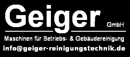 Reinigungstechnik Geiger | Reinigungsmaschinen | Mieten